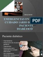 Emergencias en el cuidado 1ario del paciente diabético