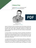 Biografia de Hugo Rafael Chávez Frías
