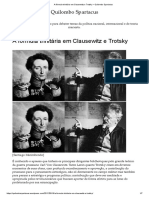 A fórmula trinitária em Clausewitz e Trotsky – Quilombo Spartacus