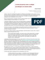 Análise às actuais perspectivas sobre a avaliação  das aprendizagens em contexto online.