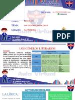 5TO-SEMANA2-LOS GÉNEROS LITERARIOS