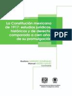14 - La Constitución mexicana de 1917 estudios jurídicos, históricos y de derecho comparado a cien años de su promulgación - Obra Colectiva - [ PDF ].pdf