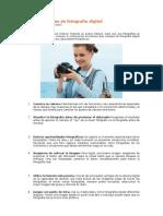 Consejos simples de fotografía digital