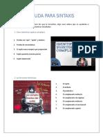 Vídeos para identificar sujetos complejos y funciones sintácticas 2º ESO