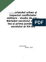 Hinterlandul urban şi  impactul conflictelor militare - Copy.doc