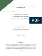 Manipulación de variables entre el condicionamiento clásico y condicionamiento operante