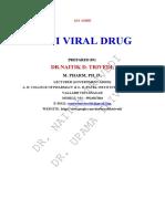 ANTI VIRAL DRUG