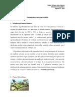 Problema de la tierra en Colombia