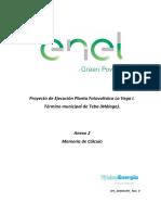 Anexo 2. Memoria de Calculo La Vega I.pdf