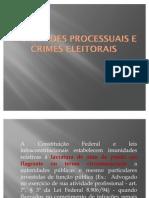 Imunidades Processuais e Crimes Eleitorais