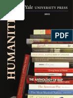 Yale University Press 2011 Humanities Catalog