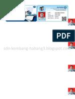 Cetak Kartu NUPTK Manual+Cover Muka