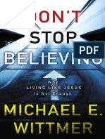 Don't Stop Believing by Michael Wittmer, Excerpt