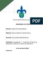 Investigación 2 Corrección del factor de potencia por medio de un banco de capacitores.docx