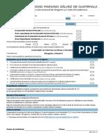 EGP y Seminarios Derecho formulario y requisitos