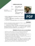 Resume- Dr. Ranjan Bera. (1)