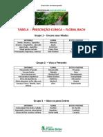 tabela - floral