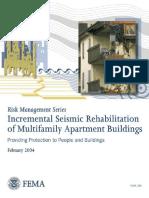 FEMA 398 Incremental Seismic Rehabilitation of Multifamily Apartment Buildings