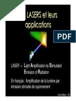 lasers et appli