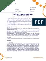 Acido Tranexamico estetica