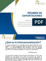 Regimen de Exportaciones