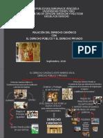 RELACION ENTRE DERECHO CANONICO Y EL DERECHO PÚBLICO Y PRIVADO. TRABAJO (2)