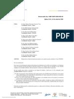 DISPOSICIÓN POR CONTAGIO DE COVID 19 No. MSP-MSP-2020-0359-M