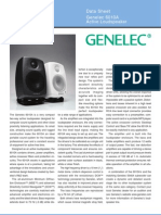 Genelec 6010A Data Sheet