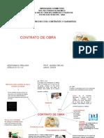 CONTRATO DE OBRA ESQUEMA