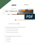 Quiz - Chapitre 27 _ Les approvisionnements et la logistique - Business School SupportBusiness School Support