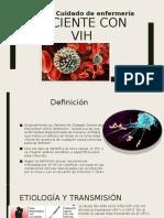 Paciente con VIH