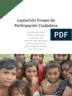COMUNIDADES INDÍGENAS - PARTICIPACION CIUDADANA