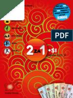 """2za1.si, jesen 2010, osrednja Slovenija - knjiga kuponov """"dva za ena"""""""