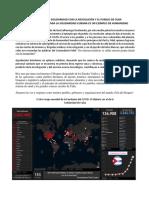 Comunicado de solidaridad con la Revolución y el pueblo de Cuba