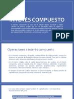INTERÉS COMPUESTO II Y  ECUACIONES DE EQUIVALENCIA