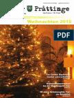 Tuxer Prattinge Ausgabe Weihnachten 2010
