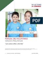 MANUAL DEL VOLUNTARIO 010 03-05 PRELIMINAR