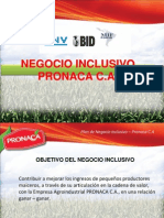 La experiencia de PRONACA con los Negocios Inclusivos - JValenzuela