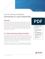 Four Common Electronic Load Applications