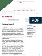 'Nunca' ou 'sempre'_ - 04_07_2013 - Pasquale - Ex-Colunistas - Folha de S.Paulo
