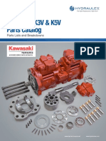 HG K3V K5V Series Parts Diagrams Catalog Web