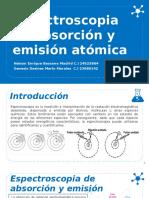 Espectroscopia de absorción y emisión atómica