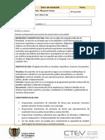 protocolo individual arquitectura de software unidad 2