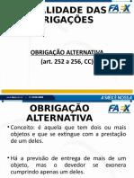 PARTE 3.3.2 SLIDES MODALIDADES DAS OBRIGAÇÕES- alternativas, divisíveis e indivisíveis (3) (1)