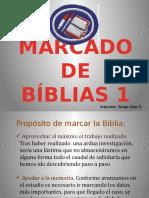 MARCADO DE BIBLIAS 2019