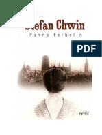 Stefan Chwin - Panna Ferbelin