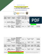 AGENDA COMPETENCIAS COMUNICATIVAS