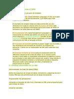 Programas que conforman el DBMS