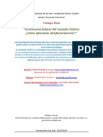 RIZZETTO BELELLI, Franco _2010_ La entrevista laboral del contador público, cómo afrontarla satisfactoriamente