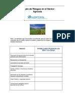 Riesgos del Sector  Agricola